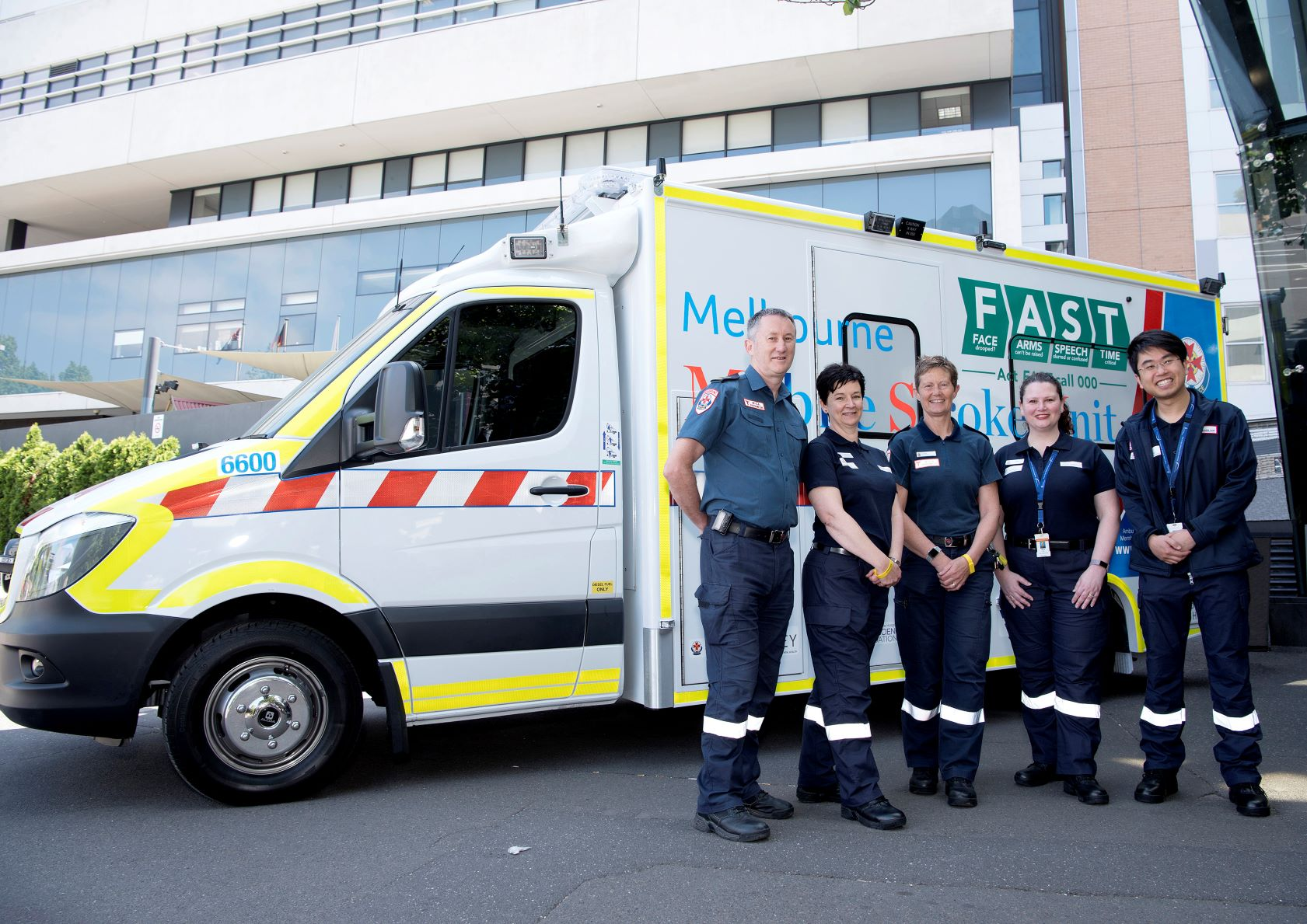 MSU stroke ambulance