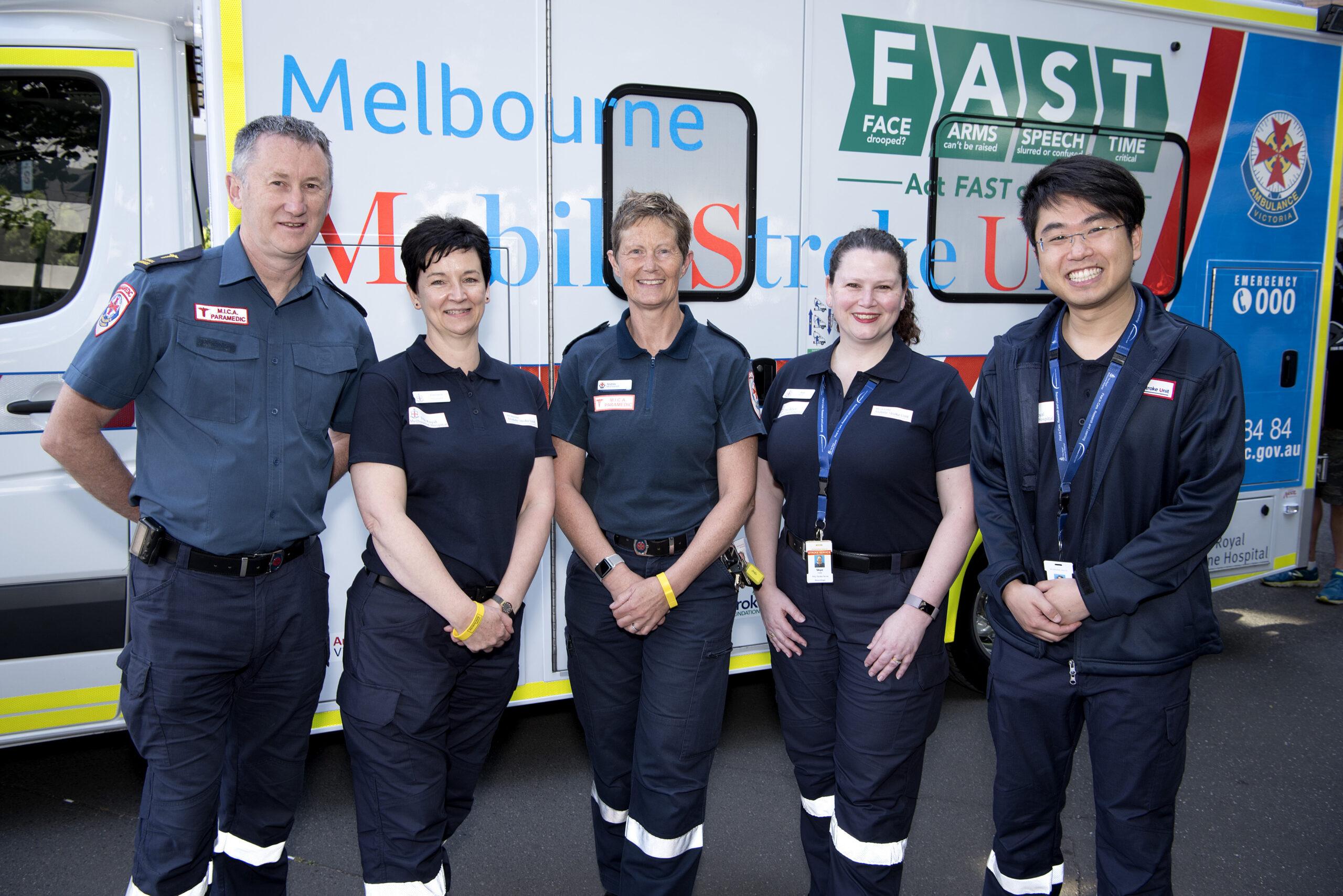 MSU stroke personnel